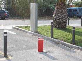 postes control de accesos